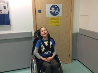 At Bristol Children's Hospital