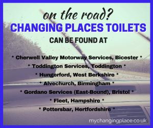 motorway changing places