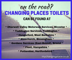 motorway changing places