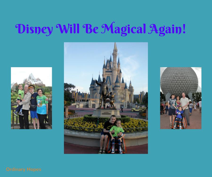 Disney will be magicalagain!