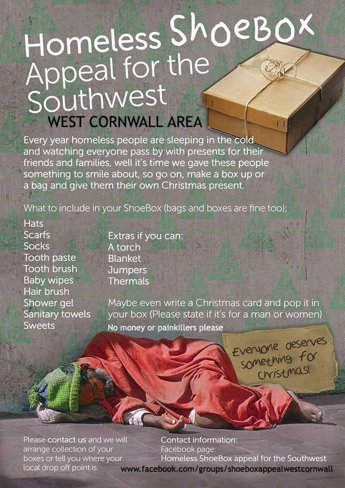 Christmas Shoe Box Appeal 2019.Homeless Shoebox Appeal Ordinary Hopes