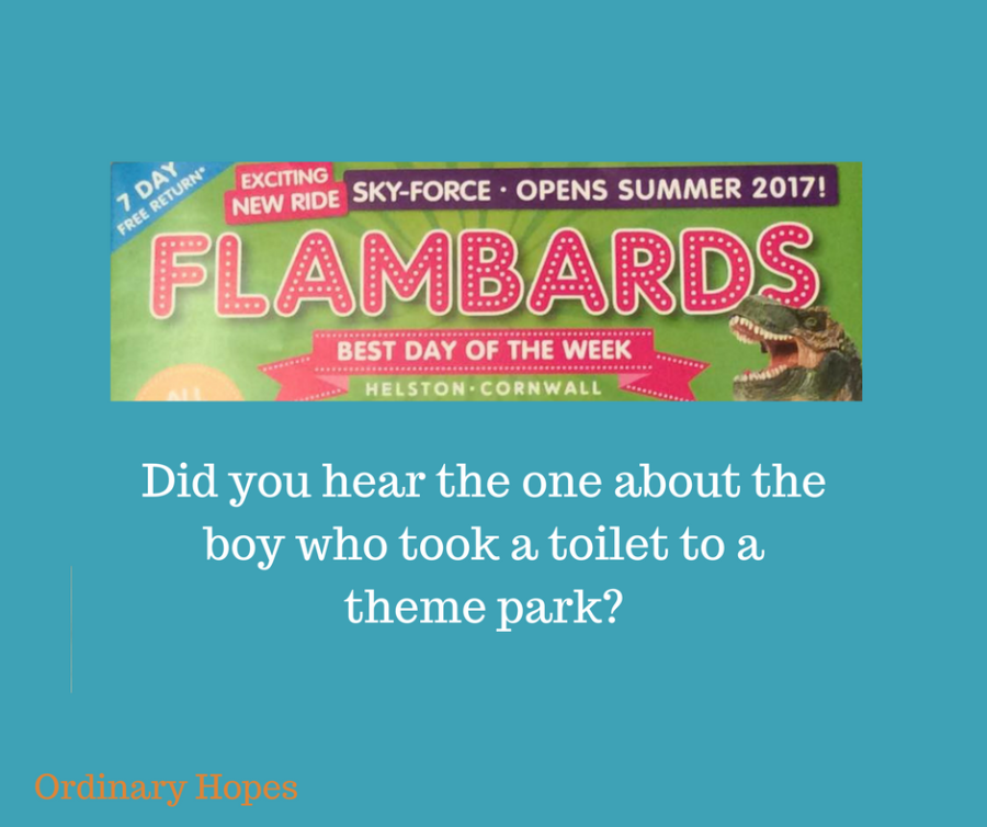 Flambards, almost the best day of the week.