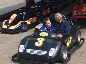 Grandad and Adam cars