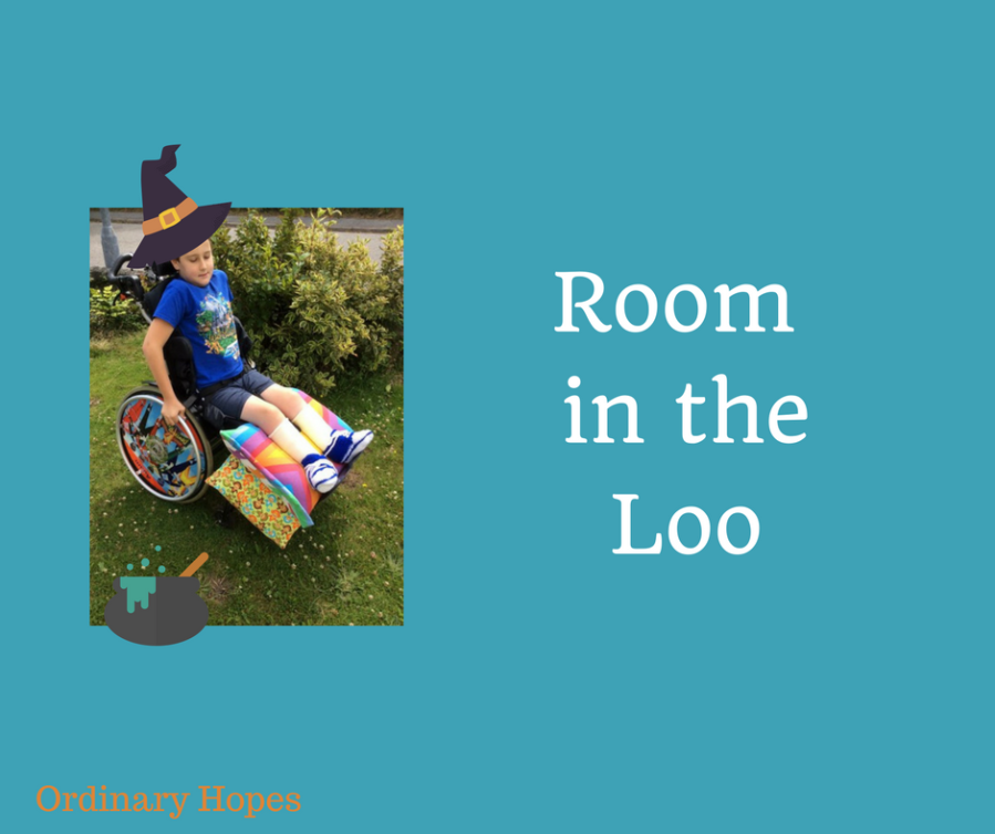 Is there room in your loo for a boy likeme?